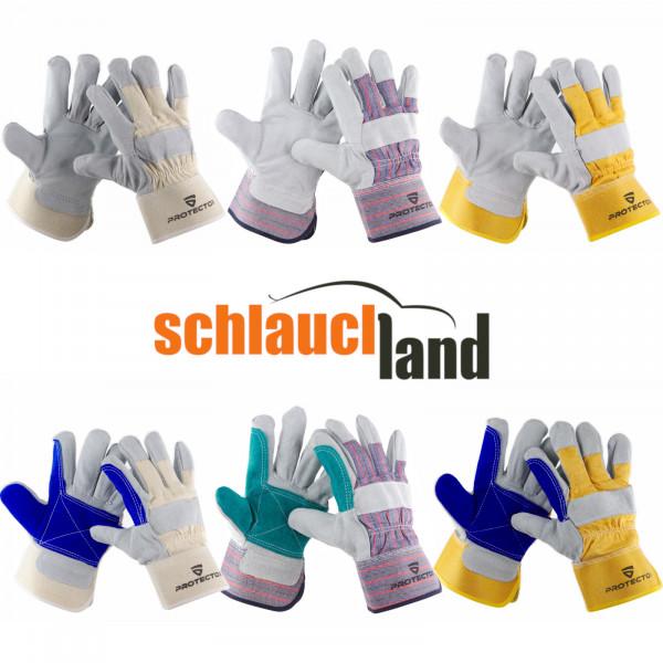 Lederhandschuhe (verschiedene Modelle)