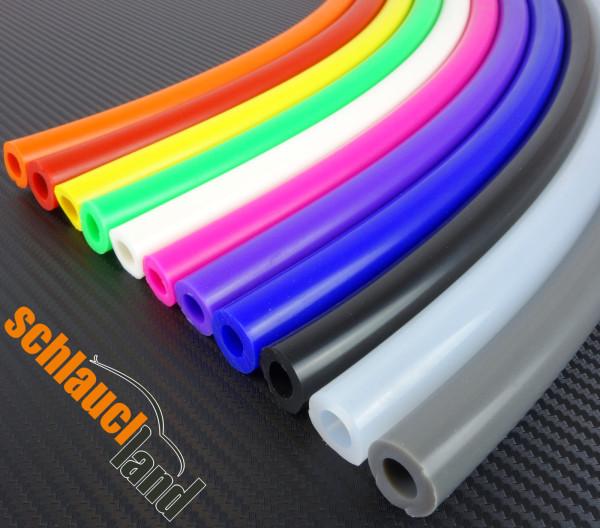 Silikon-Unterdruckschlauch Meterware / ID wählbar / Farbe wählbar