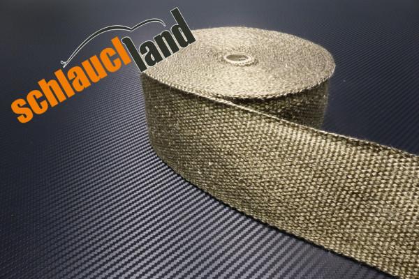 Hitzeschutzband Titan 75mm